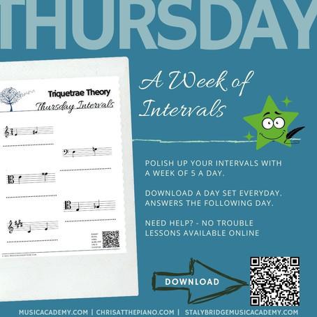 Week of Intervals: Thursday
