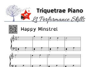 Performance Level 1: Happy Minstrel