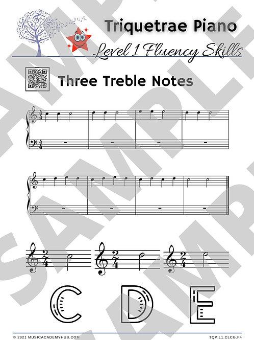 Three Treble Notes