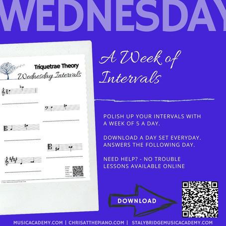 Week of Intervals: Wednesday