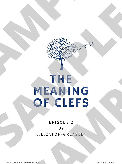 Meaning of Clefs: Episode 2 Treble Clef Spaces