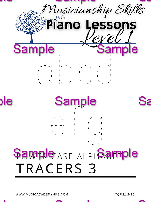 Lower Case Alphabet 3