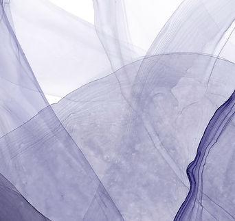 Blue Veils II by Michelle Farrell