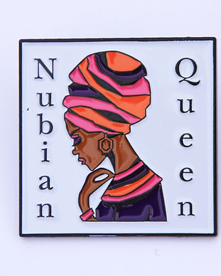 Nubian Queen Pin Badge