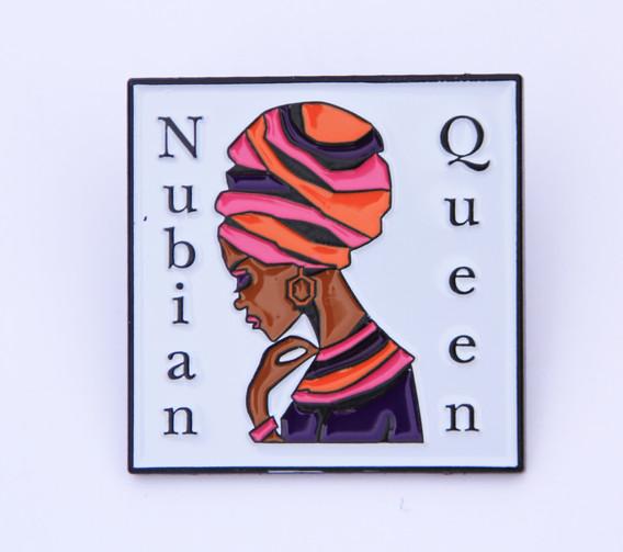 Nubian Queen Pin Badge