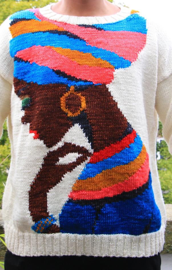 Nubian Queen Sweater