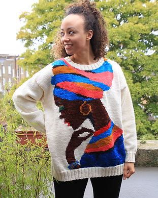 Nubian Queen Sweater