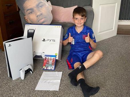 Το 9χρονο παιδί που ενέπνευσε ο Marcus Rashford και το ευχαριστώ του