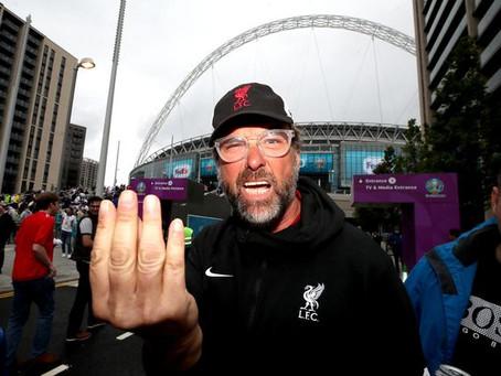 Ο σωσίας του Jurgen Klopp στο Wembley