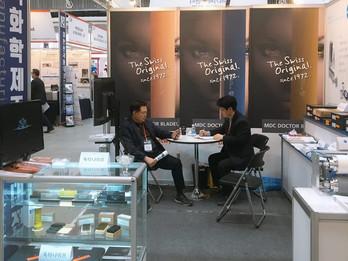2019.03 티지코리아, 인쇄 전시회 코팅코리아 '2019 국제 코팅접착필름산업대전' 참여