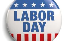 SEP. 6  — Labor Day.