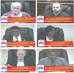 City budget audit proves most divisive issue among Ocoee commission candidates in otherwise friendly political forum