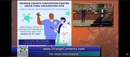 Orange County residents 40 and older can make an appointment to get a Covid-19 vaccine starting Monday