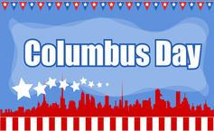 OCT. 11 — Columbus Day.