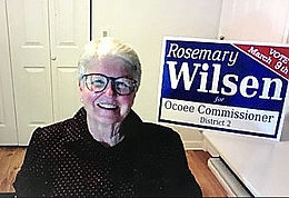 Seeking her 5th term as District 2 commissioner, Rosemary Wilsen brings a social worker's acumen to city government