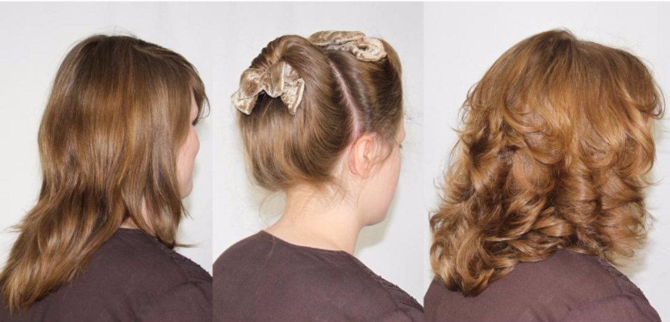 Healthy hair style