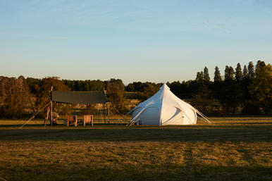 Glamping with Woodsman's Awning