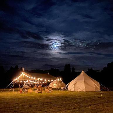 Woodsman's Awning summer camp