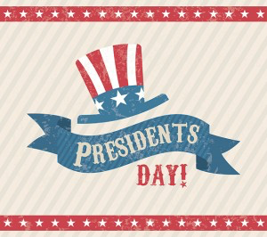 Presidents Day Schedule - 17Feb2020