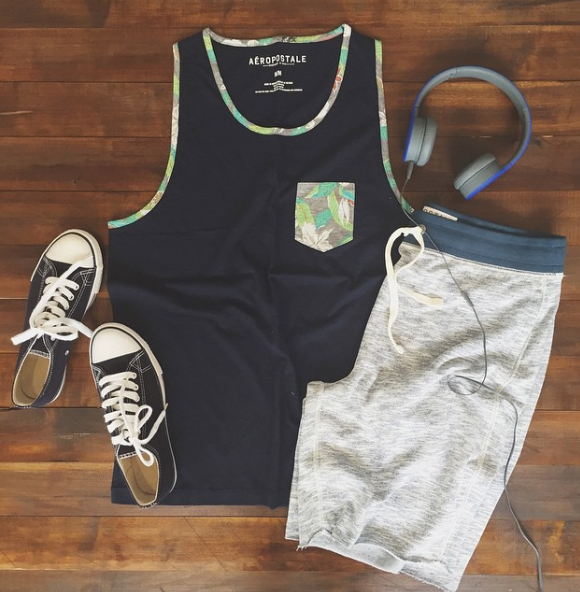 Pocket Tank and Jogger Shorts
