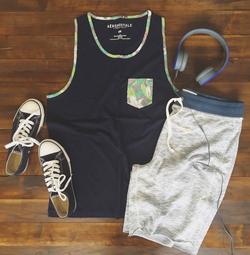 Pocket Tank and Jogger Shorts