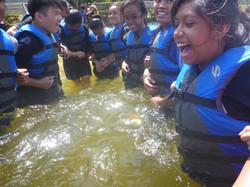 Buoyancy Test @BBGB