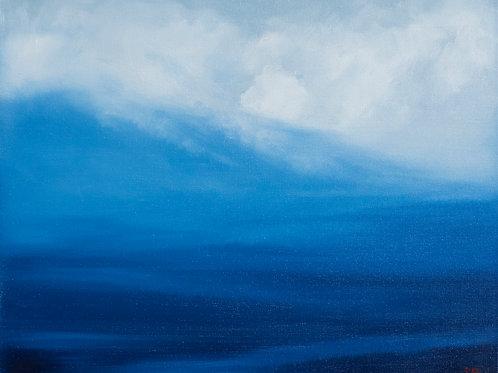 'Descending Mist' 16 x 20 Oil Painting