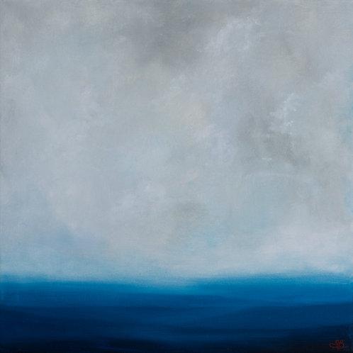 'Calm Seas' 24 x 24 Oil Painting