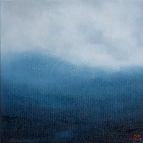 'Highland Pass' 12 x 12 Oil Painting