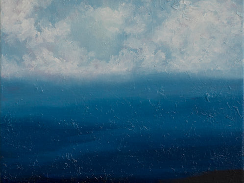 'Distant View' 8 x 10 Oil Painting