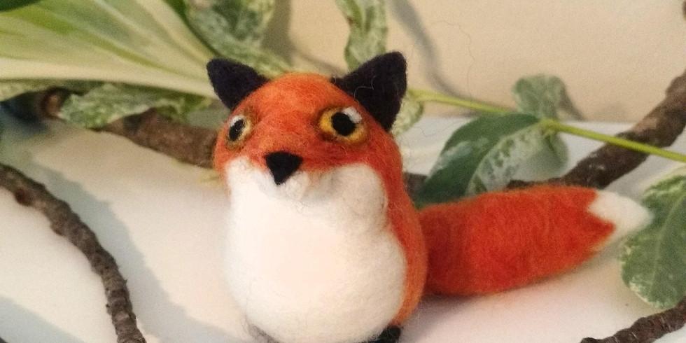 Needle Felted Fox Class