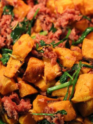 Sweet Potatoe Hash