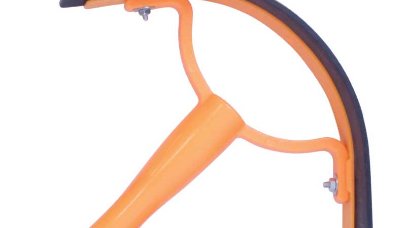 Plastic Sweat Scraper With Rubber Blade