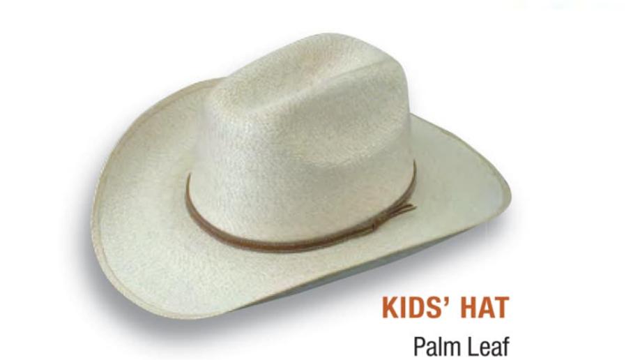 Kids Palm Cowboy Hat