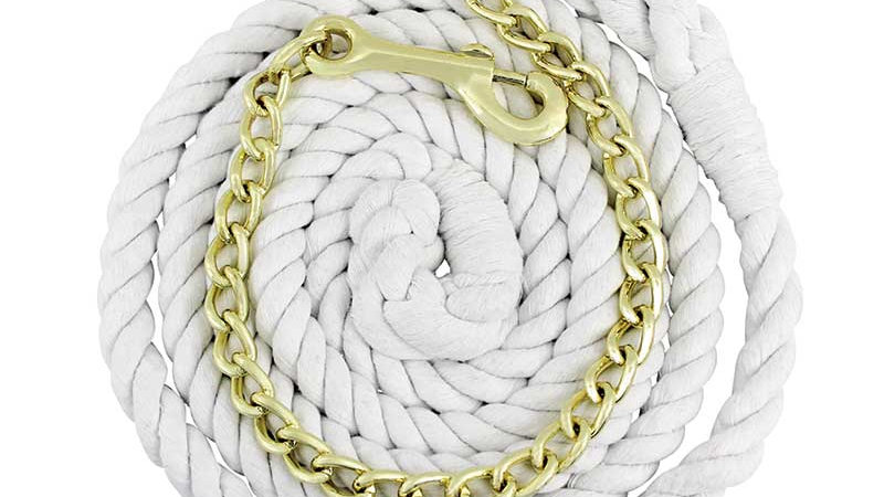5/8″ Cotton Lead With Chain