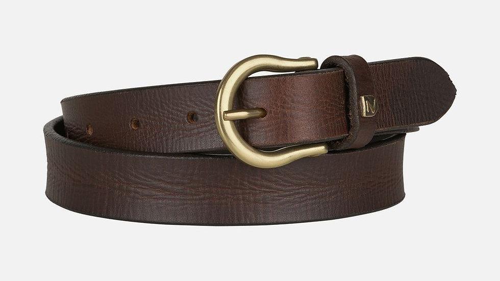 Sierra Narrow Leather Belt