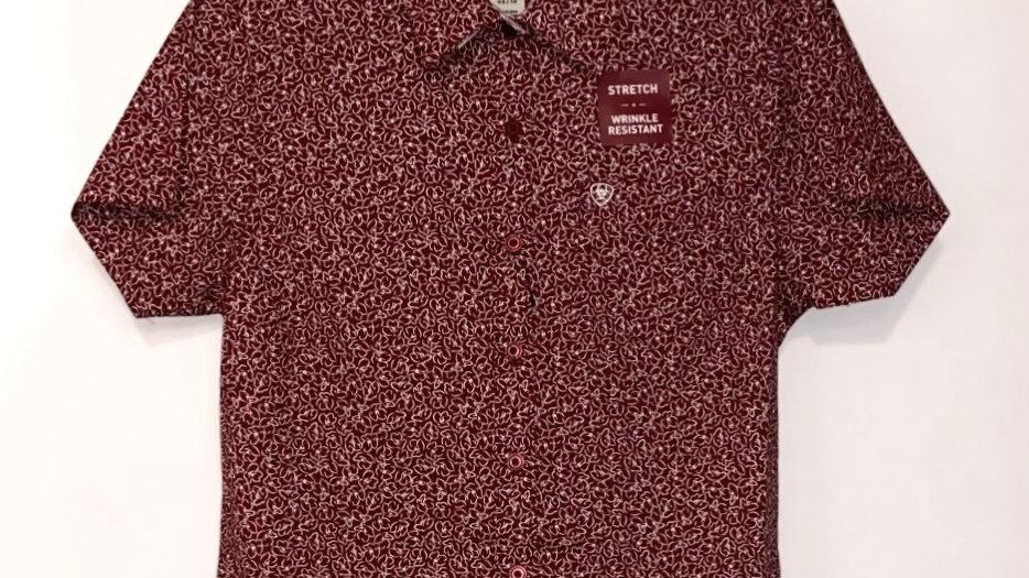 Crimson Jack Kirby Short Sleeve Shirt