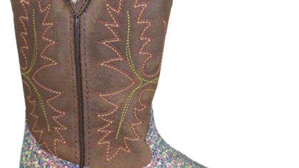 Ariel Glitter Purple Boots