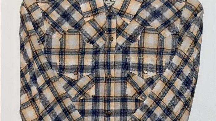 Youth Real Natural Snap Shirt
