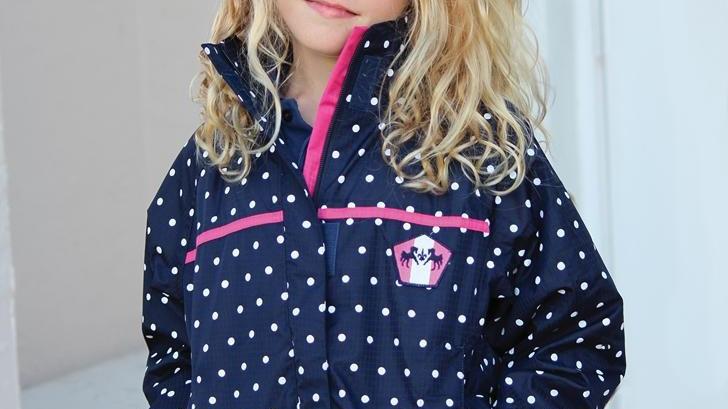 Children Delia Rain Shell Jacket