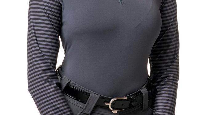 Asphalt, Black Stripe Sleeve