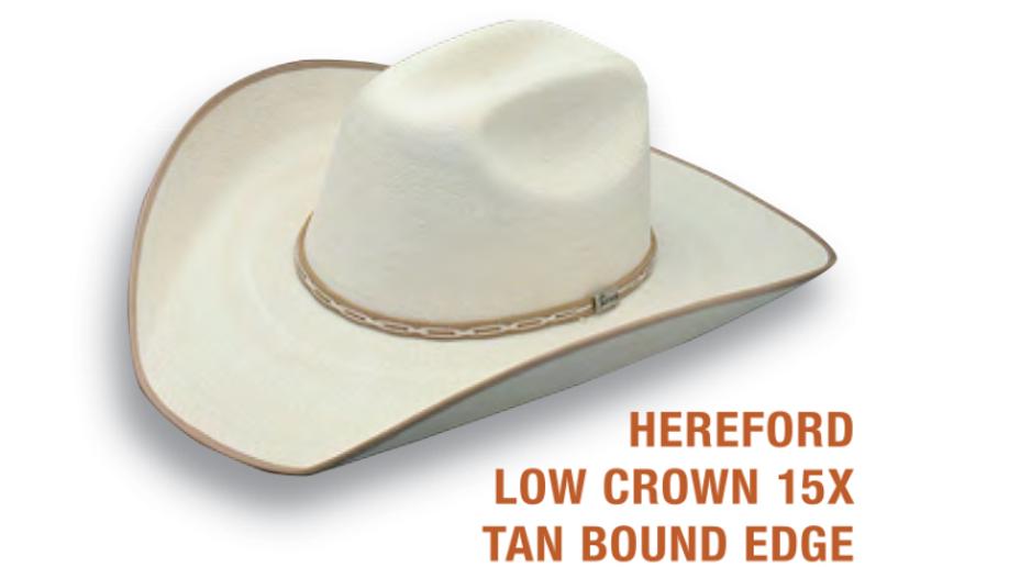 Hereford Palm Cowboy Hat