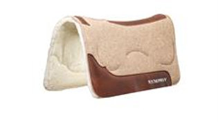 Synergy®Natural Fit Wool Blend Felt Performance Saddle Pad with Merino Wool Flee