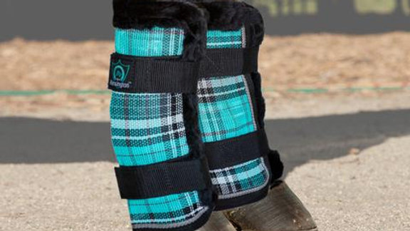 Fly Boots with Fleece Trim - (set of 4)