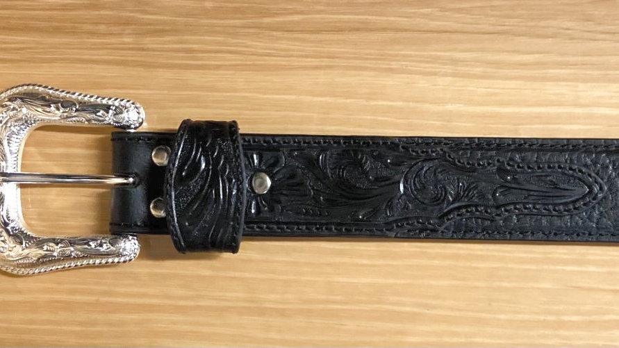 Black Bull Hide Belt