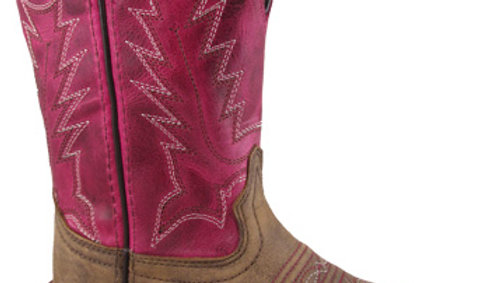 Tracie Brown Pink Boot