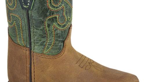 Autry Brown & Green Distress Boot
