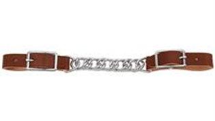 "Horizons 4-1/2"" Single Flat Link Chain Curb Strap"