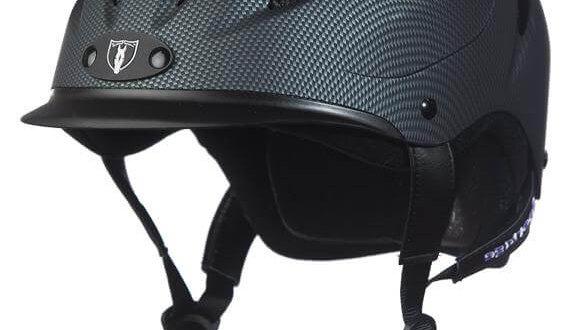 Tipperary Sportage Equestrian Helmet - Carbon Grey