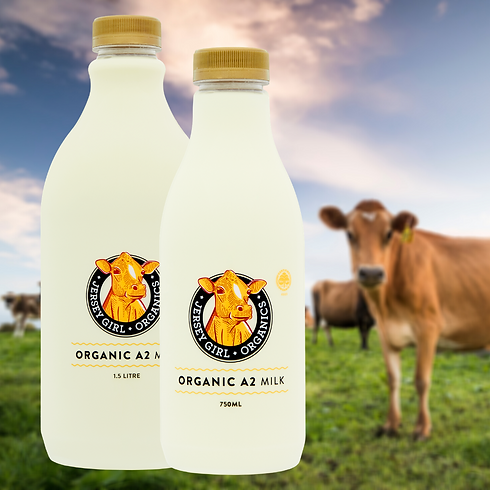 Our milk is bottled in recylable PET bottles